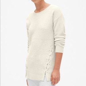 NWT GAP TALL pullover sweater tunic